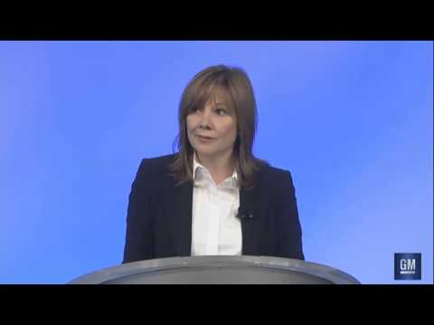 General Motors CEO Mary Barra | Ignition Switch Recall Press Conference | 6-5-2014