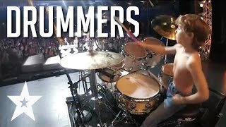 7 Skilled Drummers From Around The World On Got Talent
