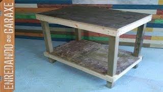Como fabricar una mesa de trabajo