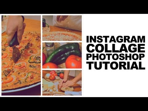 Photoshop Cs5 Tutorial: Instagram Style Photo Collage