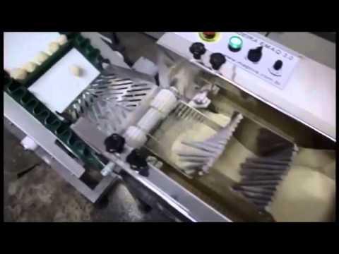 Máquinas de Salgados, Empanadeira, Masseira Cozedora, Produção de Salgados Equipam