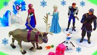 Disney Frozen Princess Anna Queen Elsa Hans Kristoff Olaf
