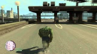 Game | Tsunami vs The Hulk GTA IV | Tsunami vs The Hulk GTA IV