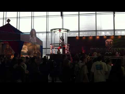 Небольшой Видеоотчёт о первом открытом дне ИгроМира 04.11.10