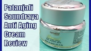 Patanjali Saundraya Anti Aging Cream Review