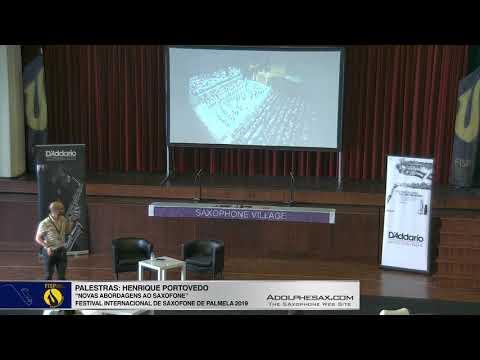 FISPalmela 2019 – CLINIC: Henrique Portovedo – Novas Abordagens ao saxofone