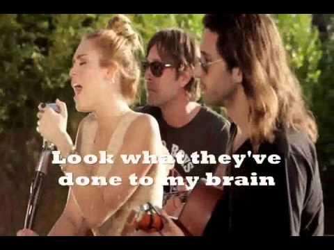 miley cyrus all backyard sessions lyrics youtube