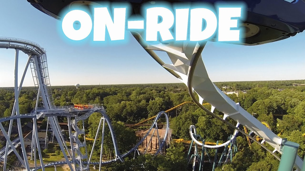 Alpengeist on ride front seat hd pov busch gardens - Busch gardens williamsburg rides ...