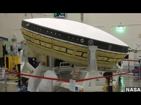 NASA's New 'Flying Saucer' Key to Mars Missions