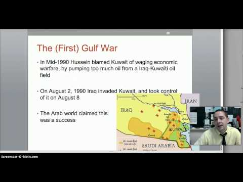 Middle East and Late Cold War