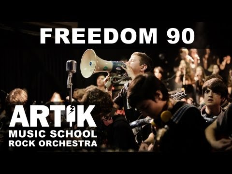 George Michael - Freedom 90 Cover By Artik Music School Rock Orchestra