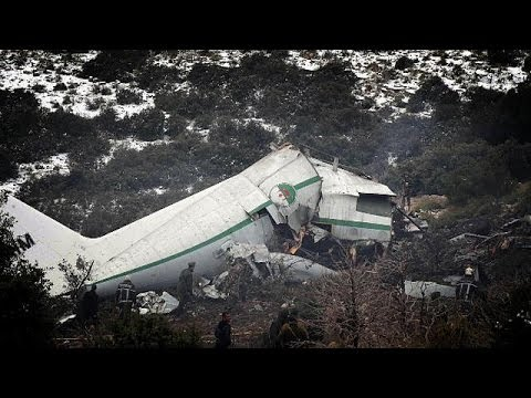 Investigation launched into Algerian mountain air crash which leaves scores dead