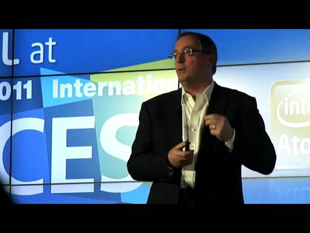 Intel's Paul Otellini on Sandy Bridge at CES 2011
