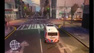 GTA 4 Mercedes Vito Dutch Police