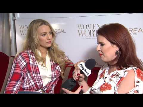 Blake Lively on what makes Canadian women so beautiful