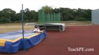 Improving Your High Jump Technique Scissor Drill