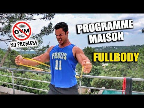 MON PROGRAMME COMPLET MAISON AUX ELASTIQUES (FULLBODY)