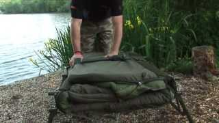 ***CARP FISHING TV*** Flatliter Bed & Bag System