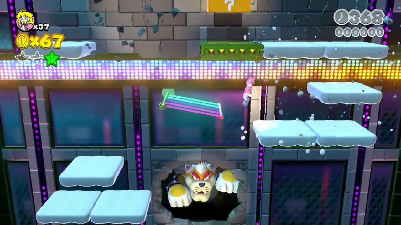 Super Mario 3d World Final Boss Bowser Final battle super mario 3dSuper Mario 3d World Final Boss Bowser