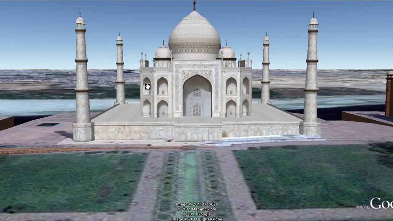 Google Maps Virtual Tour Taj Mahal