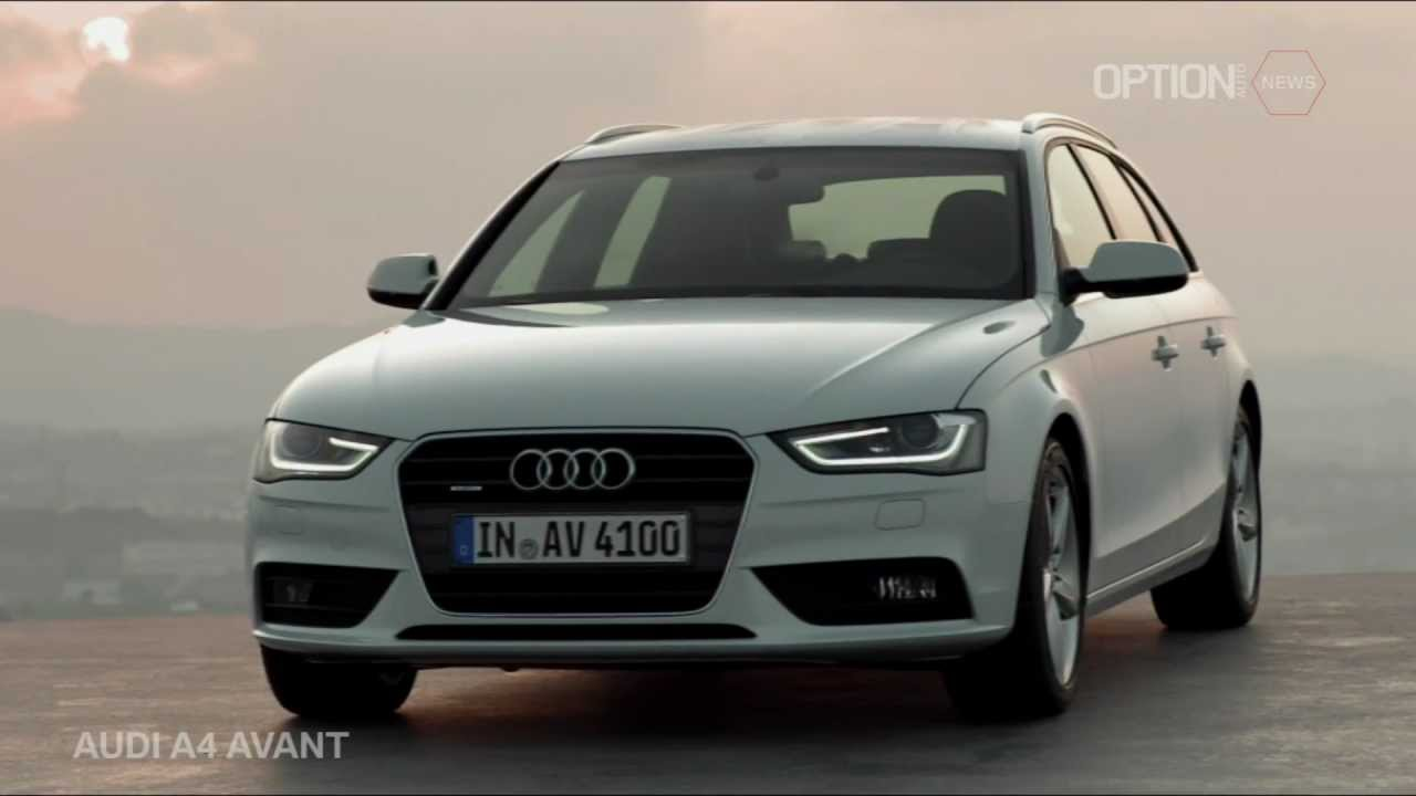new audi a4 avant 2012 exterior hd option auto news youtube. Black Bedroom Furniture Sets. Home Design Ideas
