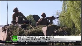 NATO troops headed to Estonia