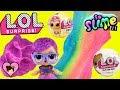 LOL Surprise Pets Glitter Series Dolls DIY Slime Factory Toy