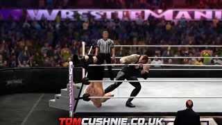 WWE 2K14 - Wrestlemania 30 The Undertaker Vs Brock Lesnar - Tom Cushnie