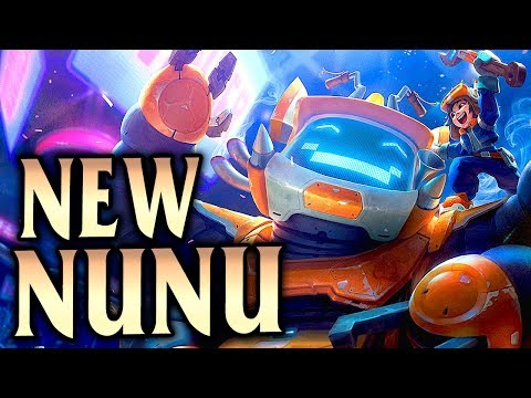 New Reworked Nunu & Willump! They See Me Rollin'.. Nunu Bot Jungle Guide - League of Legends S8