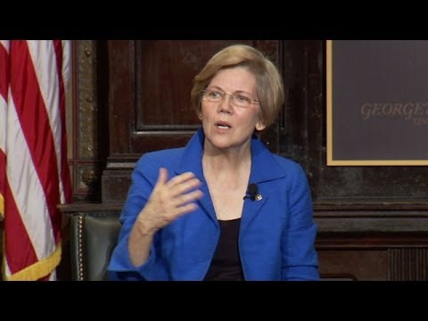 Sen. Elizabeth Warren Delivers 2014 Whittington Lecture