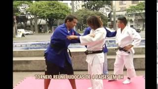 Torneio re�ne judocas de 4 pa�ses em BH
