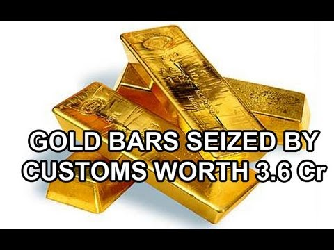 CUSTOMS AUTHORITIES SEIZE GOLD WORTH RS 3.6 Cr AT GOA AIRPORT