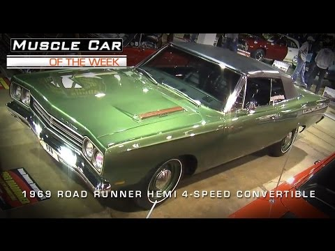 Muscle Car Of The Week Video #31: 1969 Road Runner 426 Hemi Convertibl