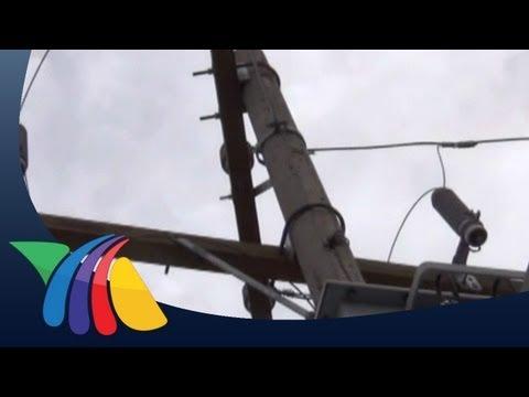 Robo de cable problema en Durango