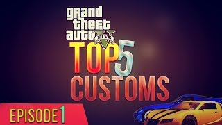 "GTA 5 Online Top 5 Customs ""Paint Jobs"" Batman, Superman"