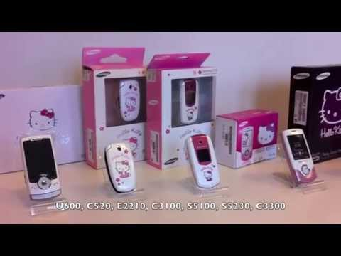 My Samsung Hello Kitty collection!!!