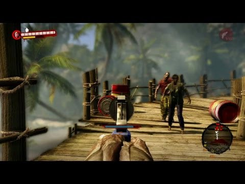 Nail Gun Diaries - Dead Island: Riptide Gameplay (PS3 ...