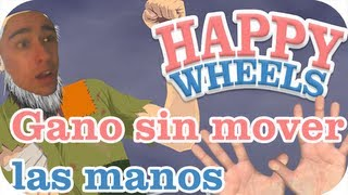 Happy Wheels 2.0 - Gano sin mover las manos