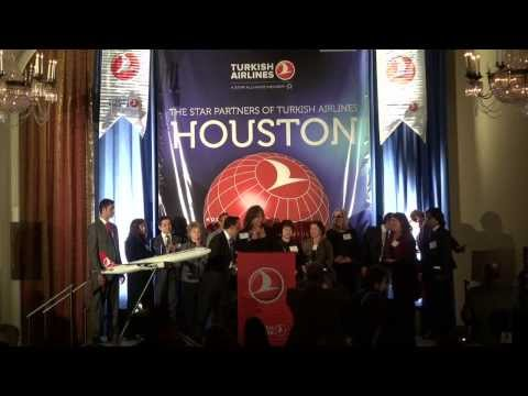 Turkish Airlines Star Partners of Houston Gala Awards Event 2013