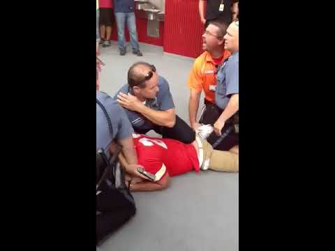 Police TASER, subdue rowdy Chiefs fan