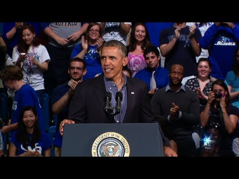 President Obama Makes Historic Visit to UB