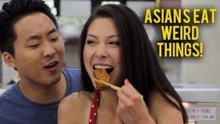 Asians Eat Weird Things Ft. AJ Rafael (MUSIC VIDEO) Fung