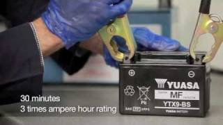 Yuasa Battery Basics - Battery Charging