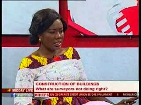Midday Live - Discuss State of Building Constructions in Ghana - 13/3/2014