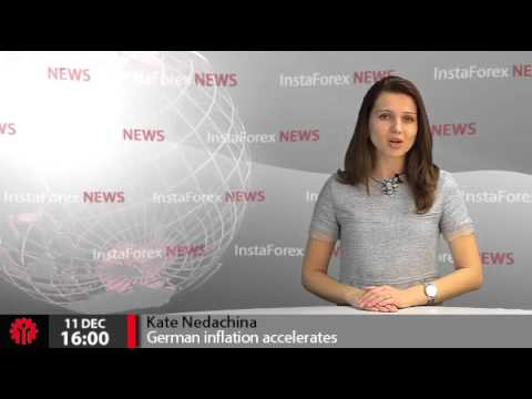 InstaForex News 11 December. German inflation accelerates as expected
