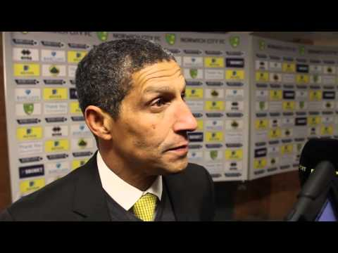 Norwich City 1-0 Hull City: Chris Hughton Reaction