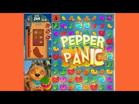 Pepper Panic Saga Level 249
