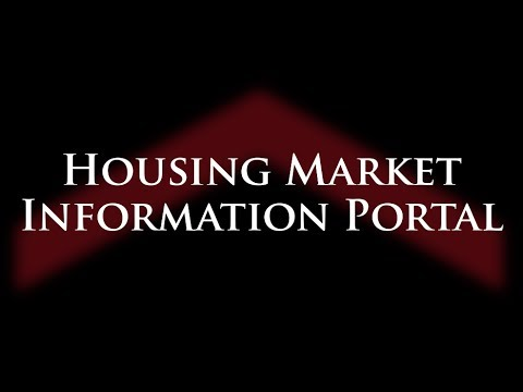 CMHC's New Housing Market Information Portal