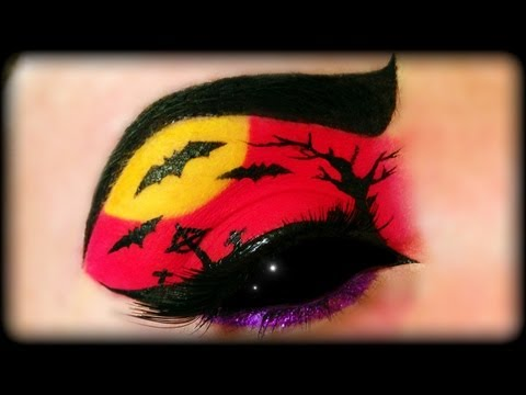 Halloween 2013 Make Up Tutorial (easy) Trucco Halloween