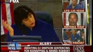 Judge To OJ: You Are Ignorant & Arrogant. What You Did Was